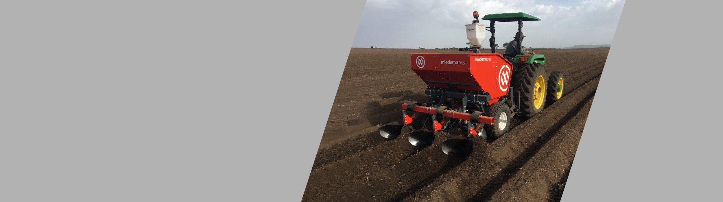 Mounted 2-row cup planter