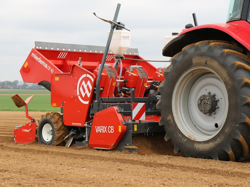 Full-field cultivator for use with planter