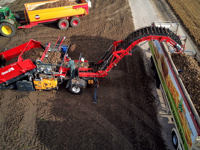 Dewulf to bring two new machines and several familiar favourites to Potato Europe '18