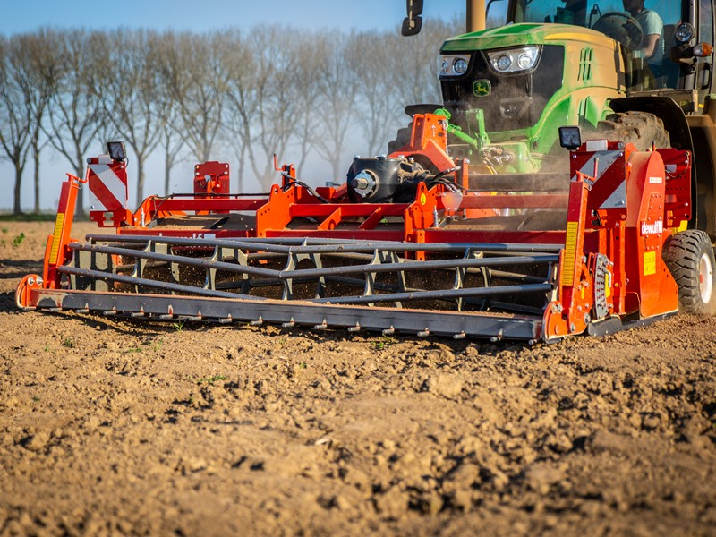 Dewulf launches the SC 360, a 3.6 m wide cultivator in their SC series