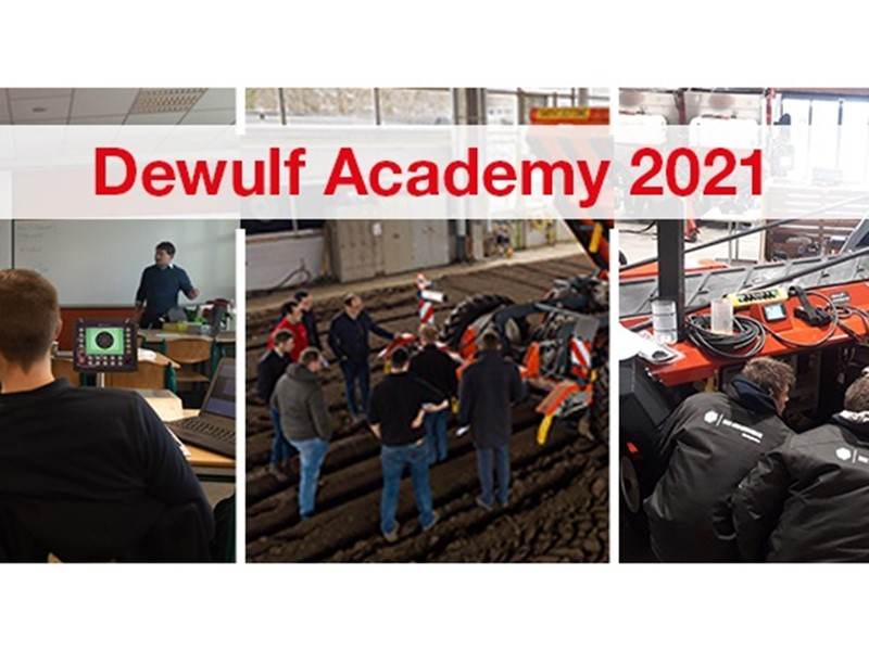 Registrations opened for our dealer training courses: Dewulf Academy 2021